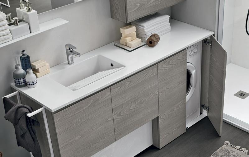 Mobile bagno artesi lavanderia for Artesi arredo bagno